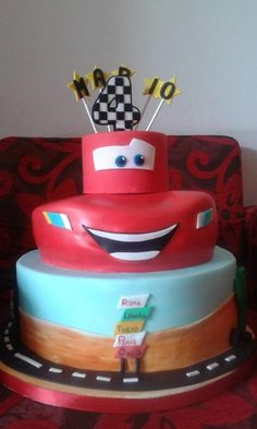 CARS  - Cake by FRANCESCA