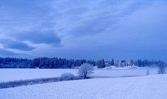 Blue scenery by Krogen, via Flickr