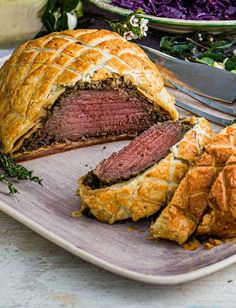 Beef Wellington Recipe, Wellington Food, Tommy Banks, Beef Fillet, Sainsburys, Food Trends, British, Sauce Recipes, Cooking Time