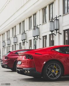 Ferrari 812 Superfast and GTC4 Lusso