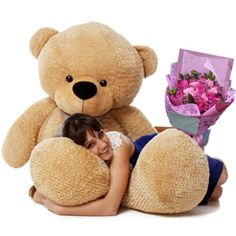 If you are searching for an impressive give to send your love ones then teddy bear with flower is the most impressive gift . You can sen teddy with flower to philippines to you near and dear ones . #Teddybear #flowers #roses