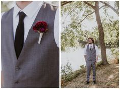 Lindsay & Kevin's Waterfront Wedding + the Dreamiest Floral Curtain Backdrop