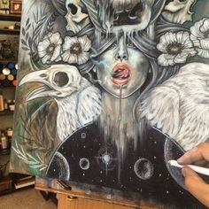 So....you all know that I love the Friday WIP...so now this is the Friday finish! I posted this this WIP a while back....check it now! Love! Oh and as you may have gathered from last week I am abroad, so my next post will be when I wake up....in a few hours ... ♥ by Wendy Ortiz