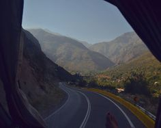 On the road - Cordilheira dos Andes