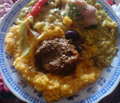 (Recipe In Spanish/Receta En Espanol) Sopa Teóloga (para 6 personas) : Comida Peruana