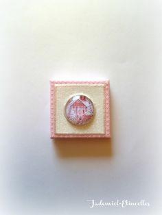 """*NOEL*Mini toile décorative série """" Sainte Nuit ... """" n°42 : Accessoires de maison par jademiel-etincelles"""