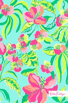 New Lilly Print IPhone Wallpaper