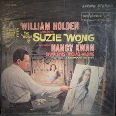 "WORLD OF SUZIE WONG  12"" VINYL LP ORIGINAL SOUNDTRACK (1960 MUSIC GEORGE DUNING) WM HOLDEN, CULT"