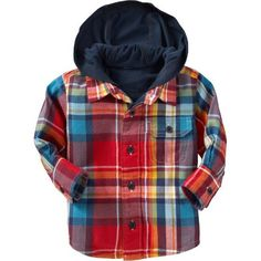 Old Navy Hooded Graphic Shirts For Baby ($20) ❤ liked on Polyvore