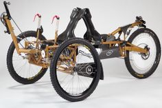 Winner of the Best Design Award at the 2011 edition of NASA's annual Great Moon buggy Race, the RISD Moon Buggy 2011 is one of the most sophisticated recumbent trikes that have surfaced in a few ye...