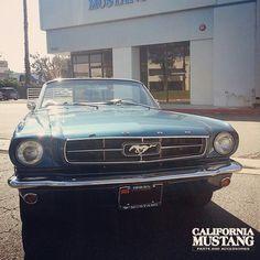 1964 1/2 Mustang Convertible Guardsman Blue