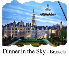 Unbelievable - I thought this was a photoshop, a restaurant full of people hoisted high in the air by a crane. But it is a company that does this in 40 countries (sorry, no WAY I could take part!!!) http://www.dinnerinthesky.com/dits_dinner/pictures.php