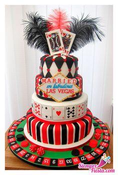 Increíbles ideas para una fiesta de Casino. Encuentra todos los artículos para tu fiesta en nuestra tienda en línea: http://www.siemprefiesta.com/celebraciones-especiales/fiestas-para-adultos/fiesta-casino.html?utm_source=Pinterest&utm_medium=Pin&utm_campaign=Casino