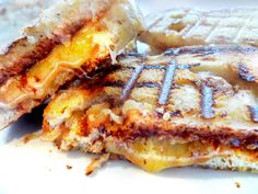 Mmmm... Grilled grilled cheese...