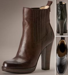 Donna Chelsea Frye boots