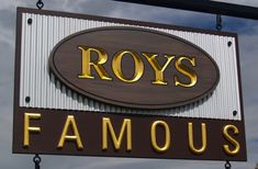 Roy's Famous Cafe Sign / Danthonia Designs