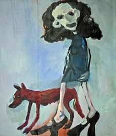 Girl And Dog, Gardening, Paintings, Paper, Dogs, Inspiration, Art, Biblical Inspiration, Art Background