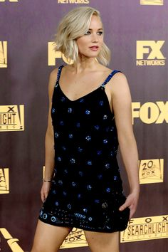 Jennifer Lawrence, winner of Best Performance in a Motion Picture - Musical or Comedy for 'Joy' attends FOX Golden Globe Awards Awards Party 2016 sponsored by American Airlines at The Beverly Hilton Hotel on January 10, 2016 in Beverly Hills, California.