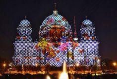 Berlin festival of lights.