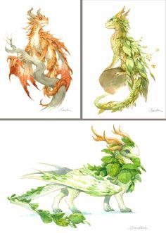 Small dragons watercolors 995x1396 px http://ift.tt/2B7PPQx