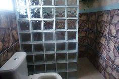 box de blocos de vidro ou box de tijolo de vidro, tipos de box para banheiro