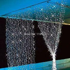 Barato 3 M x 3 M 300 LED Outdoor partido natal natal fada cordas casamento luzes da cortina iluminação 8 modos, Compro Qualidade Cordão de Iluminação diretamente de fornecedores da China:                        Conduziu a lâmpada do gramado com inserir Agulha Pin 110 v-240 V                               --