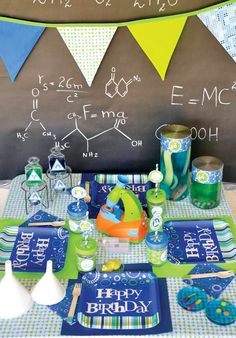 Creative Kids Mad Scientist Party Ideas: The Kids Table