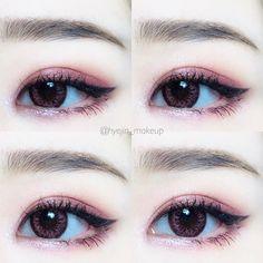 1,804 個讚,20 則留言 - Instagram 上的 혜 진(@hyejin_makeup):「 #hyejin_makeup . • 렌즈 - #앤365 애드핑크 - Ann365 Add Pink . • 섀도우 - #아리따움 #샤인픽스아이즈 #플레이모드, #모노아이즈… 」