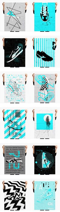 PERSONAL PROJECT  Screen Printing  // Sneakers Poster Series