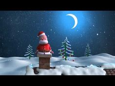 Santa and Reindeers - Merry Christmas and a Happy New Year. - YouTube