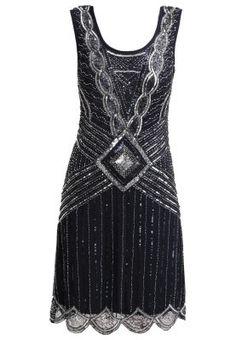 ATHENA - Cocktail dress   Gatsby Flapper Bridesmaid Dresses via www.southboundbride.com #bridesmaiddresses #gatsby #artdeco #1920s #bridesmaid #wedding
