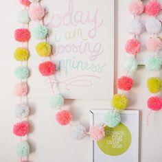10 DIY Garlands - Head to the Tinyme blog for more inspiration tinyme.com/blog
