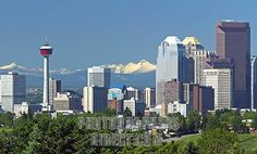Calgary's skyline has changed in the past 25 years, but that Alberta blue will always be the best azul I've ever seen!