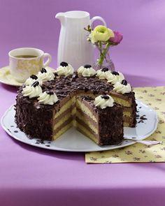 Unser beliebtes Rezept für Feine Mokka-Buttercreme-Torte und mehr als 55.000 weitere kostenlose Rezepte auf LECKER.de.