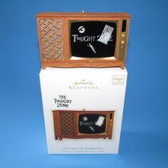Hallmark The Twilight Zone Christmas Ornament Magic Light Sound 2009 New Box