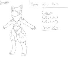 F2U protogen base by SableWolf13 Animal Sketches, Animal Drawings, Fnaf Drawings, Art Drawings, Character Art, Character Design, Anime Base, Anime Furry, Colors