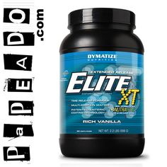 Elite XT (2.2 Lbs) - RICH VANILLA: http://papeado.com/tienda/proteinas/214-elite-xt-4-4-libras-dymatize.html