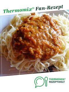 Gemüsebolognese von Kochsuse. Ein Thermomix ® Rezept aus der Kategorie Hauptgerichte mit Gemüse auf www.rezeptwelt.de, der Thermomix ® Community.