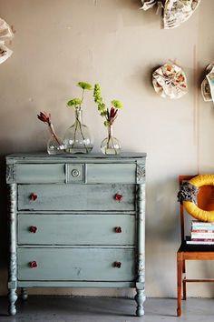 Muebles pintados: manos a la obra!