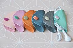 DIY cable clutch | kabeltäschchen selber machen | handmade cord organizer | luziapimpinella.com