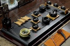 Purple clay tea set high-grade gold ore tea tray stone table tea pot cup 29pcs http://www.ebay.com/sch/chinese-gift-shop/m.html?_nkw=&_armrs=1&_ipg=&_from=