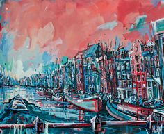 Kunstroute Amsterdam: 'creatieve kijk op een prachtige stad!' door Wanda Catsman