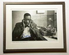 Joe Williams 1960 signed Foto