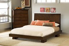 Hiro - Hida King Platform Bed *** Details can be found by clicking on the image.