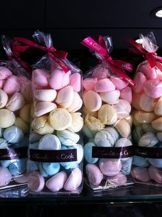 Rainbow Meringues, on display in our bakery at the foot of Gherkin, and also available from the Selfridges Food Hall, on Oxford Street, London.