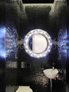 bano moderno opciones decoracion espejo iluminado ideas