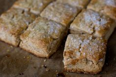 Maple scones. Love the use of pure maple syrup and wheat pastry flour. From: www.101cookbooks.com. #baking #pastry #breakfast