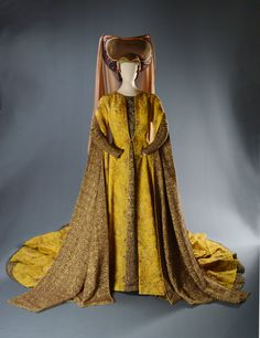 """Lady of the Court, """"Camelot,"""" Warner Brothers, 1967, Designed by John Truscott, The Collection of Motion Picture Costume Design: Larry McQueen"""