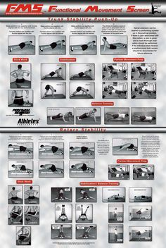 The Functional Movement Screen and Corrective Techniques Poster Set