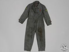 Luftwaffe Ground Crew; Mechanic's Coveralls | eMedals Mechanic Coveralls, German Uniforms, Luftwaffe, Wwii, Coat, Pants, Jackets, Fashion, Trouser Pants